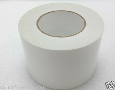 """4 Rolls 3.75/""""x55 yd Double sided tissue tape wrinkle free high tack DT63Q"""