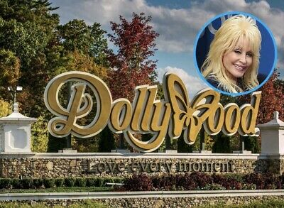 Dollywood Theme Park Tickets Promo Savings Tool Discount 1 Day ~ Great Deal!! 3