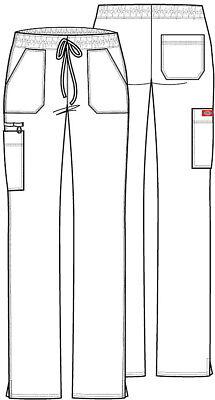 Dickies Gen Flex Scrubs Dk100 Cargo Pants Regular/Petite/Tall All Colors Sizes