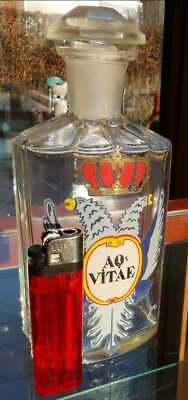 Apotheker - Altes, wunderschönes Apothekerglas - AQ VITAE - Seltenheit (2) 4