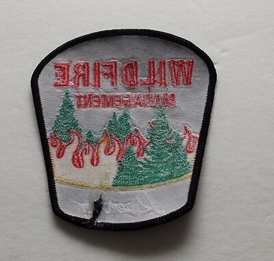 Alberta Wildfire Management Shoulder Patch Flash - Set of 2- Firefighting Canada 3