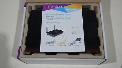 Netgear D6000 AC750 WiFi Modem Router