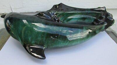 Vintage  Blue Mountain Pottery Dolphin Figurine 8