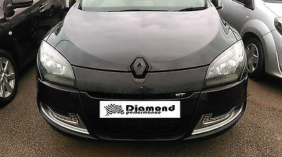 gloss black 2009-2012 carbon effect badge covers front and rear, Diamond Performance Renault Clio 3 Facelift