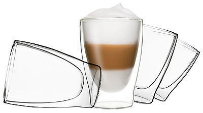 Duos Doppelwandige Thermo-Gläser  Cappuchino Latte Macchiato Cocktail Espresso