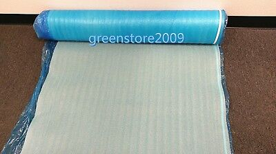 Blue Underlayment Padding 3 in 1 Heavy Duty 2mm Thick Flooring Foam 200 sqft PAD