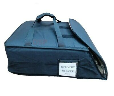 """5 QTY Professional Heavy Duty Pizza Delivery Bag Fully Foil Insulated 20""""x20""""x8"""" 2"""