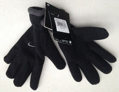 Nike Youth Boy's Gloves Color Blk/Volt For Snow, Winter Hand Gloves New with Tag
