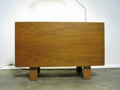 1950s George Nelson For Herman Miller Table Lamp With Glass Top & Single Drawer' 5