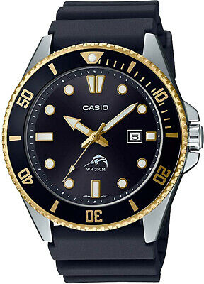 Casio MDV106G-1A Men's Duro 200M WR Black Watch Diver Analog Sports New 2020 3