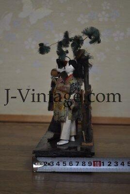 2 Antique Japanese Doll NINGYO Bodyguard & Princess HINA 3