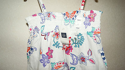 GAP summer dress with butterflys for a girl 2 years  Gr. 84-91 cm BNWT 5