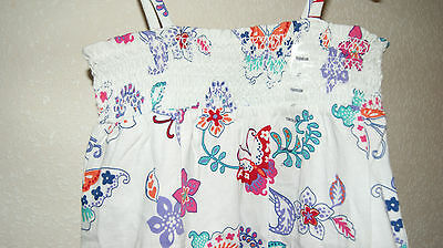 GAP summer dress with butterflys for a girl 2 years  Gr. 84-91 cm BNWT 3