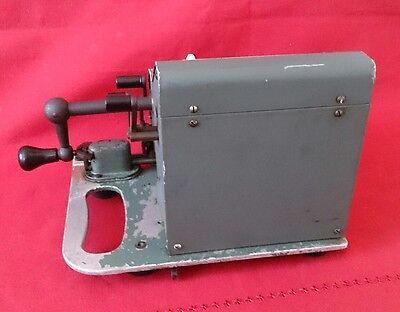 Calculadora Brunsviga 13 ZK ( modelo Azul) 4