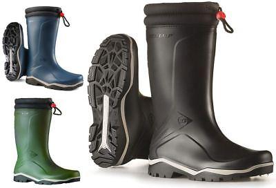 Mens Ladies Dunlop BLIZZARD Waterproof Wellingtons -15°C Mucker Derry Boots 8