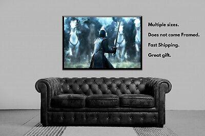 Jon Snow Poster, Game of Thrones, Battle of the Bastards, Print, Wall Decor 3