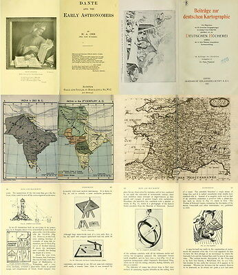 140 Rare Old Books On Cartography, Maps, Map Making, Ancient Maps & Atlas On Dvd 12
