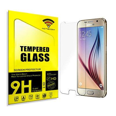Actecom® Protector Pantalla Cristal Templado Para Samsung Galaxy S6 G920F 2