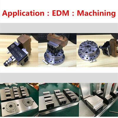 1X Wire EDM EROWA 3R CNC Self-centering Vise Electrode Fixture Machining Jaw 7