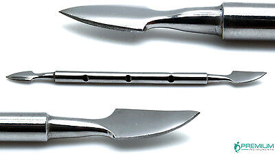 4 Pcs Beauty Nail Care Cuticle Pusher Spoon Trimmer File Manicure Pedicure Tools 4