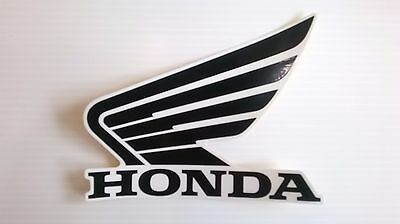 Honda Wing Fuel Tank Decal Wings Sticker 2 x 90mm WHITE /& BLUE 100/% GENUINE