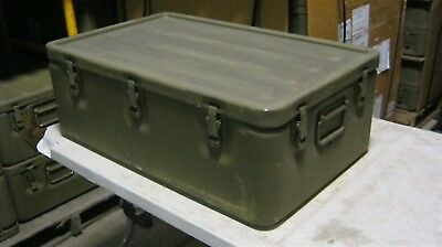32x20x11 Aluminum Military Medical Chest Watertight Survival Bug Out Storage Box 3