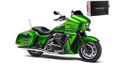 Kawasaki Vulcan Vaquero and Voyager Wiring Kit and Amp Mount Rockford Fosgate PBR400X4D or Pbr300x2 or Pbr300x4