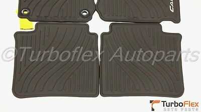 Toyota Camry 2012-2014 All Weather Rubber Floor Mat Set Genuine PT908-03120-20