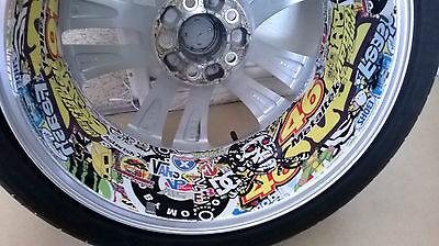 "STICKERBOMB Car Wrap 152 x 30cm (60 x 12"") - Bubble Free Vinyl Sticker Bomb Film"