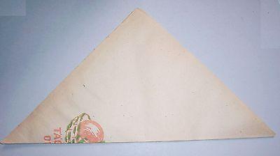 30 alte Kaufmannstüten Täglich Obst um 1950 frühe DDR Papiertüten öko Reklame 3