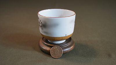 Fine Japanese Meiji Period Polychrome Kutani Tea Cup Signed 4