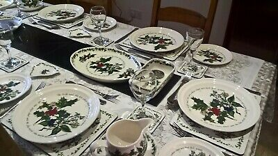 Portmeirion The Holly And The Ivy Tableware - Various - Plates - Bowls New 8