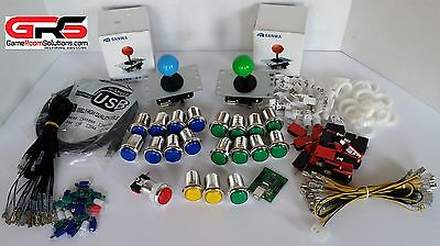 Arcade Sanwa Control Kit! Compatible with Raspberry Pi 3 - Special Bonus 3