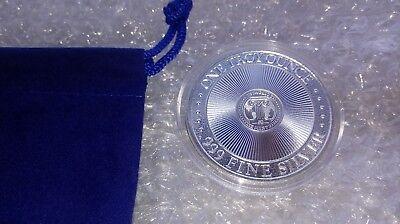 1 oz Fine Silver .999 Unicorn Forklore High Relief Round w/ Capsule & Coin Pouch 6