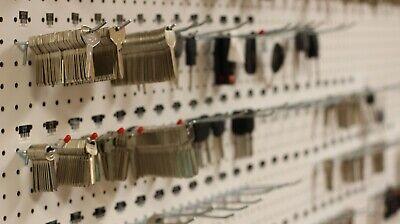 Keys for Master padlock #1 cut to your code Licensed Locksmith. X2561-X2600 KEY
