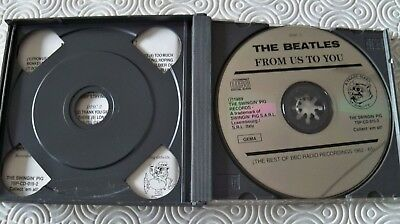 """Beatles """"From Us To You"""" Rare Double Fat Cd Bbc Sessions 1963 - 1965 Swingin Pig 3"""