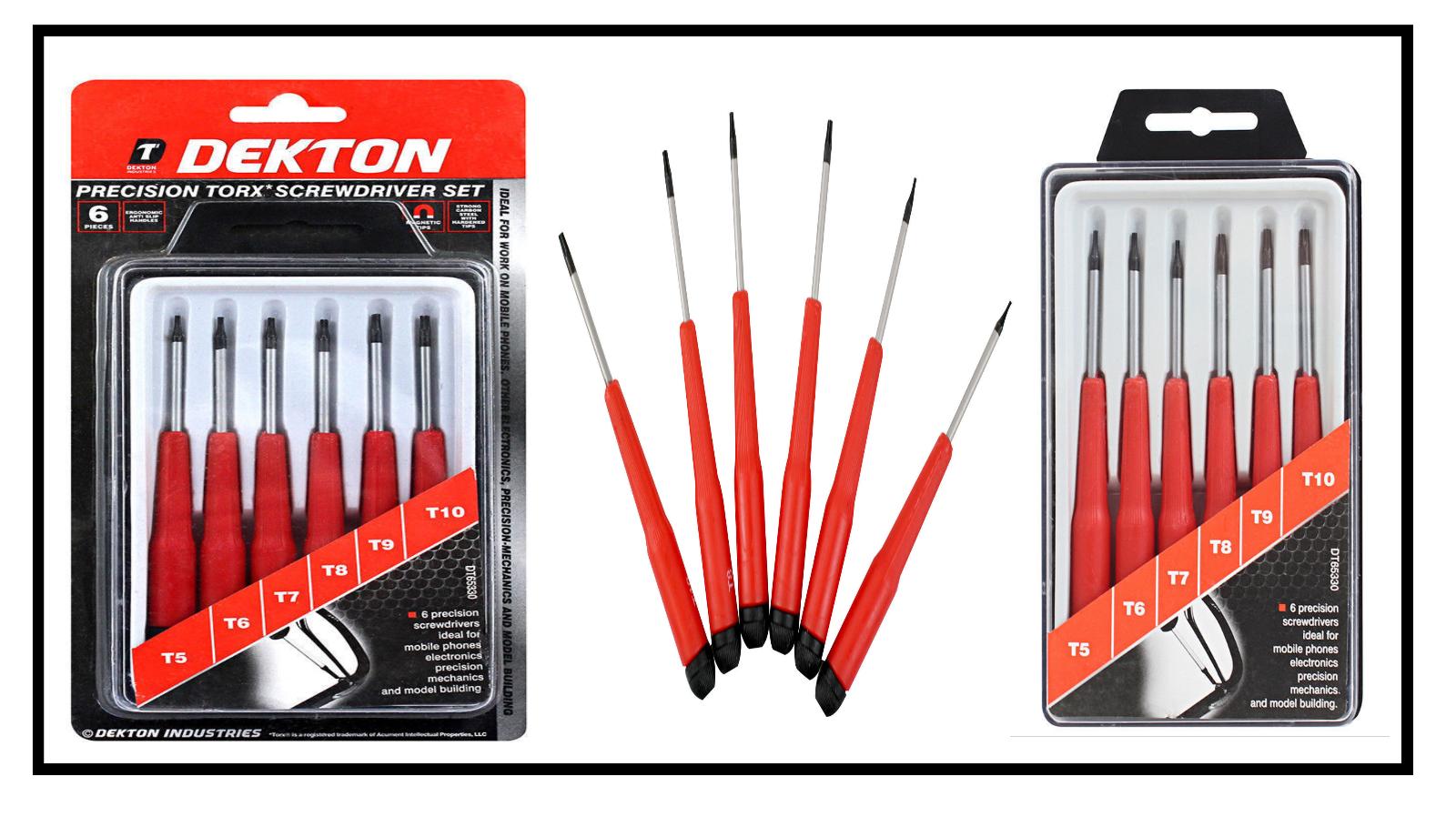 Dekton 6pc Precision Torx Set