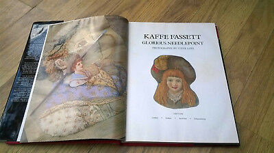 Vintage Kaffe Fassett Glorious Needlepoint book. Inspirational patterns to use 3