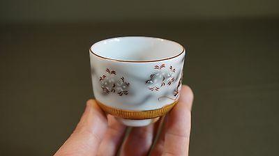 Fine Japanese Meiji Period Polychrome Kutani Tea Cup Signed 11