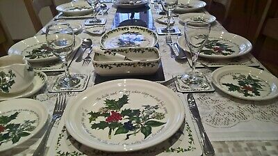 Portmeirion The Holly And The Ivy Tableware - Various - Plates - Bowls New 6