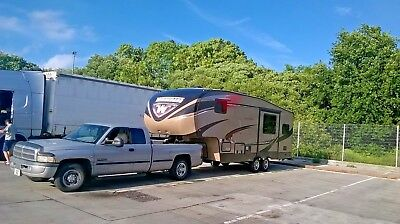 5th Fifth  wheel RV, caravan, boat & trailer towing service. Local, UK, Europe 7