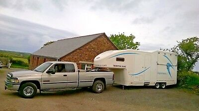 5th Fifth  wheel RV, caravan, boat & trailer towing service. Local, UK, Europe 9