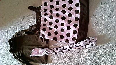 Gymboree Age 6  Dress/Tunic, Polo Neck and Tights Set 2