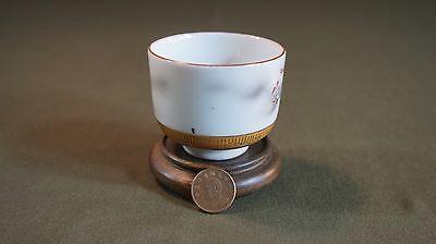 Fine Japanese Meiji Period Polychrome Kutani Tea Cup Signed 5