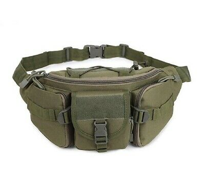 Outdoor Utility Tactical Belt Bag Waist Pack Pouch Military Camping Hiking Molle 3