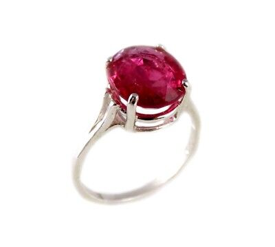 Red Sapphire Ring 5¼ct Antique 19thC Medieval Sorcery Psychic Anti-Black Magic 2