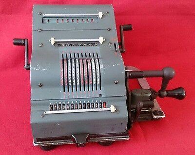 Calculadora Brunsviga 13 ZK ( modelo Azul) 2