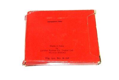 "Vintage INDIEN 1978 KONDOM ""KOHINOOR"" 4 Stück / Vintage INDIA 1978 4pcs CONDOM 4"