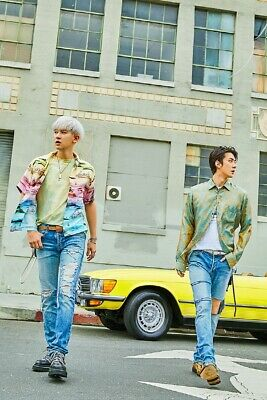 EXO-SC[What A Life]1st Unit Mini Album CD+2p Poster+Booklet+Card+Post+Tag+Gift 3