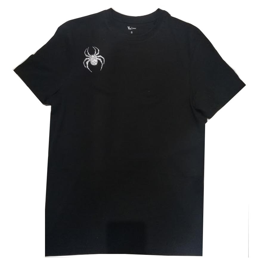 Lady Hale GLITTER Spider Brooch T-shirt Politics Boris Johnson **FREE SOCKS !!** 3
